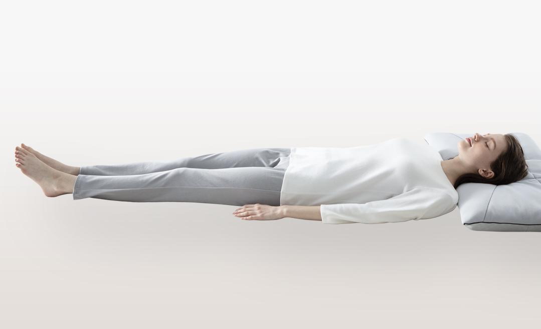 理想的な寝姿勢のキープ