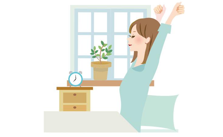 睡眠時間を意識的につくっていきましょう